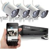 Zmodo 4CH 720P Security Camera System