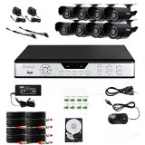 Zmodo PKD-DK0855-500GB 8-Channel DVR Security System