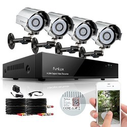 Funlux 8CH Surveillance Security Camera System-1