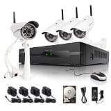 Zmodo 720P HD 4CH Wireless NVR Security System