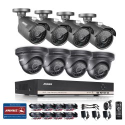 ANNKE 8CH AHD 720P DVR with 1.3MP 4